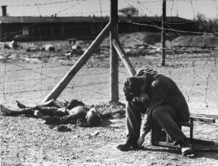 Para algunos, la liberación del campo llegó demasiado tarde.