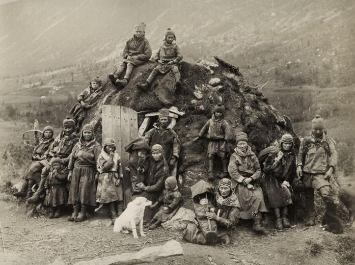 Samis en 1880.