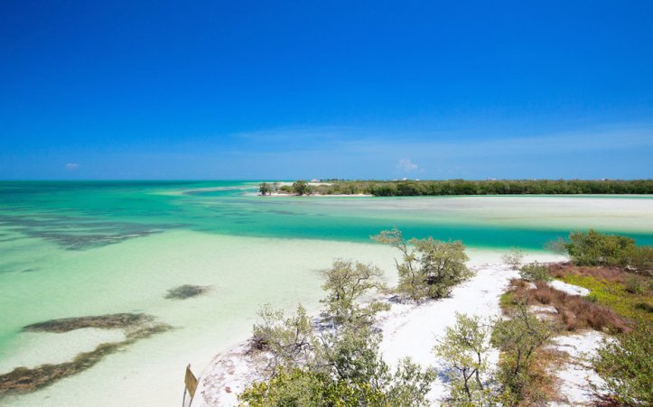 Holbox island in Mexico